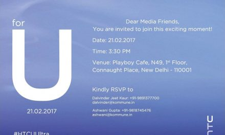 HTC U Ultra to Reach Indian Shores on February 21!