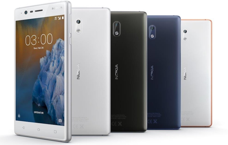 Nokia 3 Price in India, Specs, features