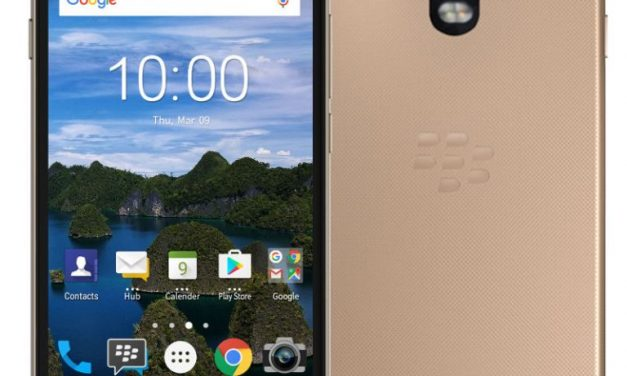 BlackBerry Aurora with 4GB RAM, Android Nougat announced in Indonesia