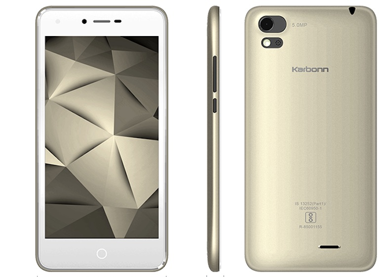 Karbonn Aura Sleek 4G With 5-inch Display and 4G VoLTE Goes Official for Rs. 5,940