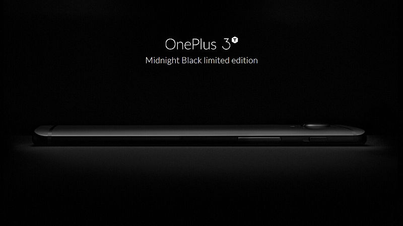 OnePlus 3T Midnight Black Special Edition Announced; Will be Sold on March 31 for Rs. 34,999 in India