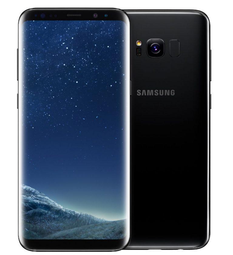 Samsung Galaxy S8 With Iris Scanner Snapdragon 835 Soc