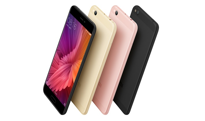 Xiaomi Mi 5c with the Company's In-House Surge S1 SoC Announced