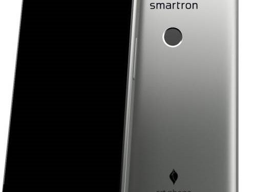 Smartron srt.phone with Snapdragon 652 SoC launched in India, priced at Rs. 12,999