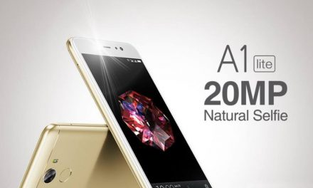 Gionee A1 Lite with 20 Megapixel front camera, Android 7 launched