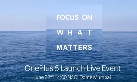 OnePlus 5 to be announced on 20 June, launching in India on 22 June