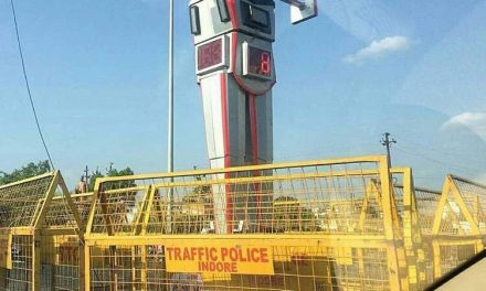 India gets its first Traffic Police Robot in Indore