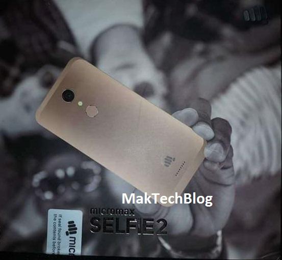 Micromax Selfie 2 Q4311 Box