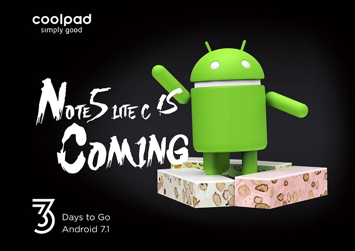 Coolpad Note 5 Lite C with Android 7 Nougat launching  in India on 5 August