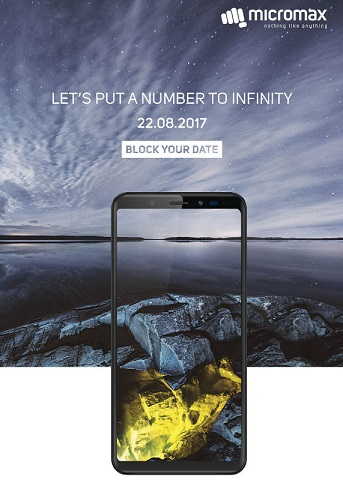 Micromax Canvas Infinity teaser