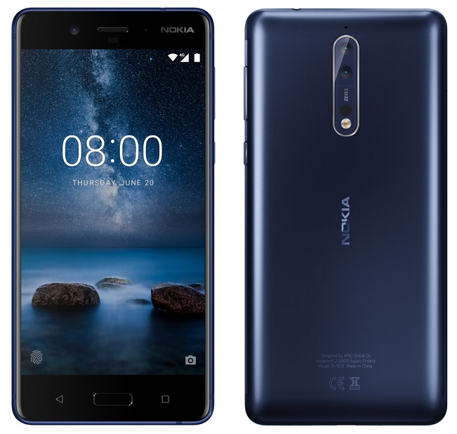 Nokia 8 gets a big price cut of Rs. 8,000 in India, now available for Rs. 28,999