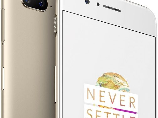 OnePlus 5 Soft Gold Limited Edition color option announced