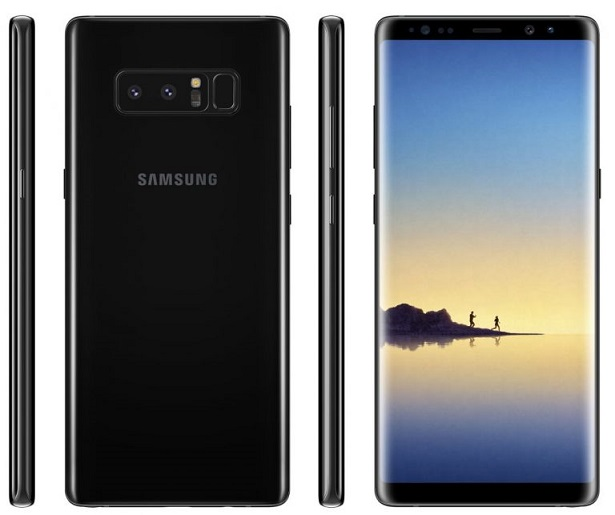 Samsung Galaxy Note8 official pictures leaked ahead of official launch