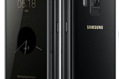 Samsung Leadership 8 SM-G9298 Flip Phone with two screen announced in China