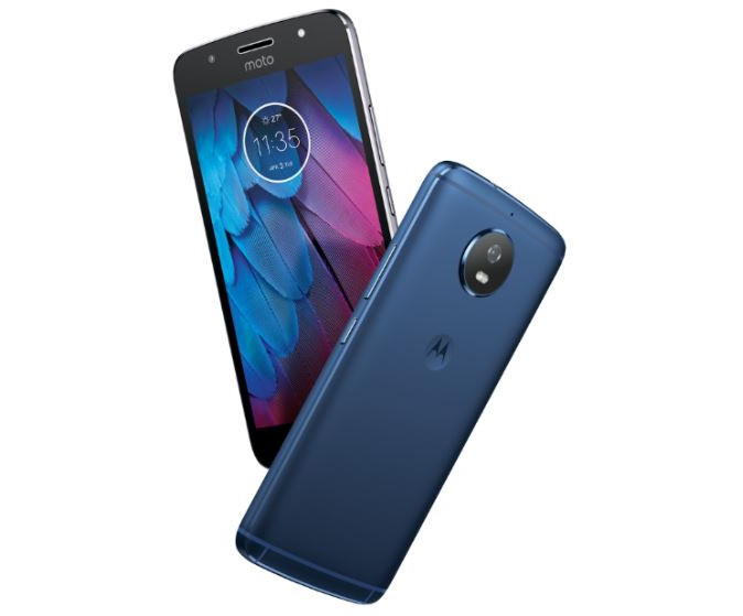 Moto G5S Midnight Blue