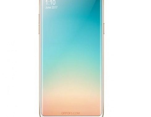 OPPO F5 with 18:9 Full View screen to be announced on 26 October, images leaked