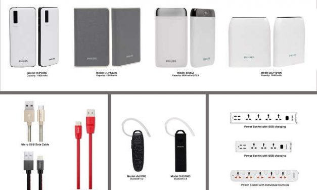 ATI Electronics launches Philips Power Banks, Mobile Accessories in India