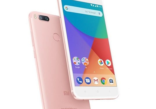 Xiaomi Mi A1 launched in Rose Gold color variant in India, priced at RS. 14,999
