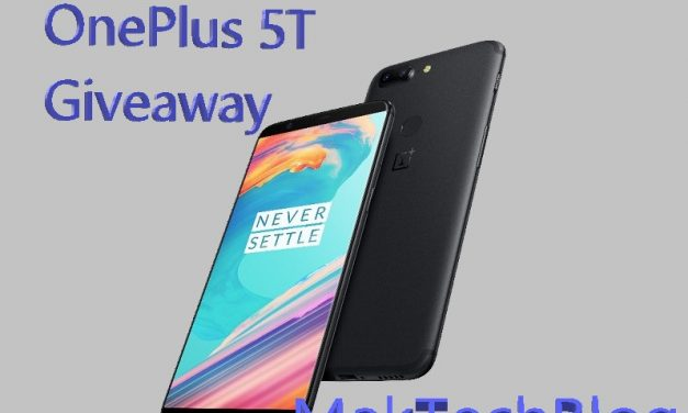 [Winner announced] OnePlus 5T Giveaway : Enter and win a smartphone this festive season