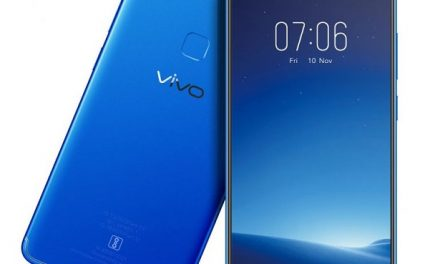 Vivo V7 launched in Energetic Blue color in India for Rs. 18,990