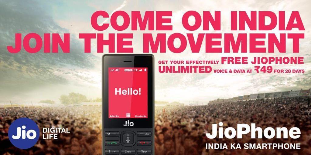 JioPhone Rs. 49 Plan