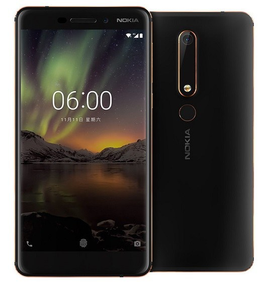 Nokia 6 (2018) Price in India, Specs, features