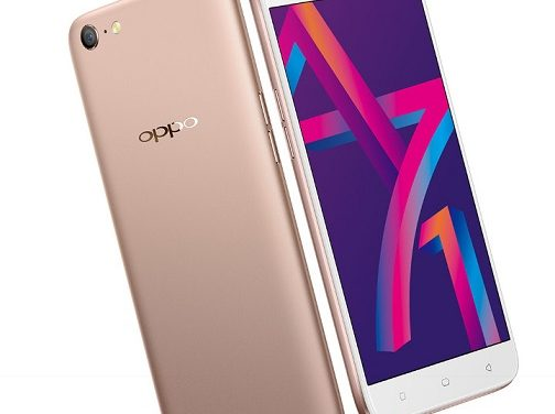 OPPO A71 (2018) with AI Selfie Tech, Snapdragon 450 announced