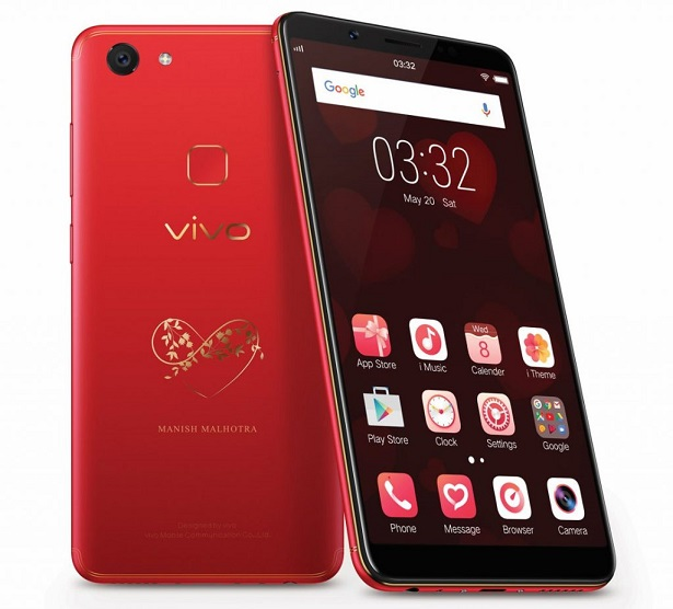 Vivo V7+ Infinite Red