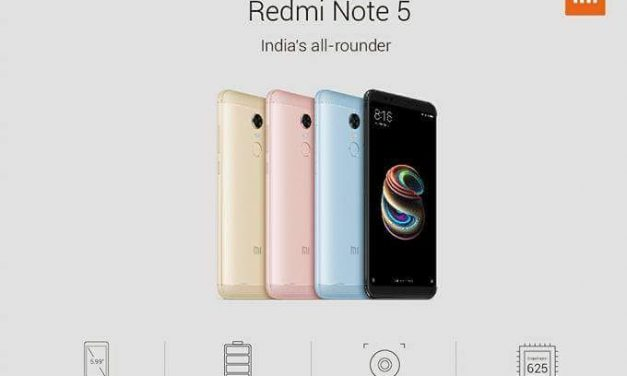 Xiaomi Redmi Note 5 Specs leaked ahead of official launch in India tomorrow