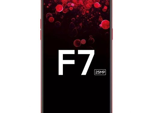 OPPO F7 with 25MP front camera, 19:9 display with a notch launching in India on 26 March