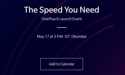 OnePlus 6 to be announced on 16 May in London, India launch on 17 May