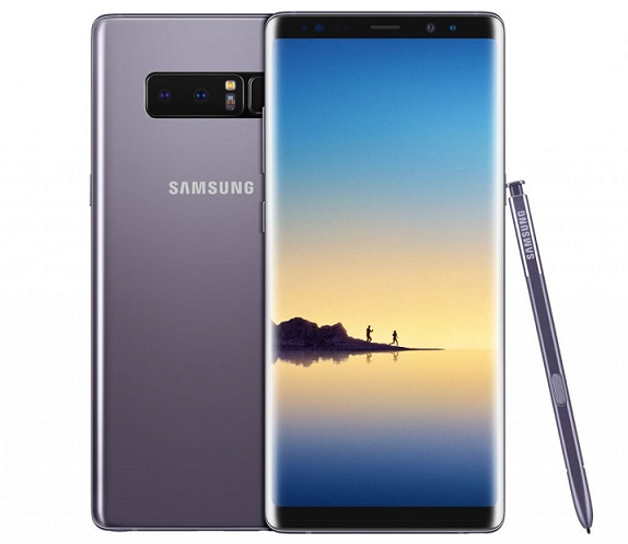 Samsung Galaxy Note8 launched in Orchid Gray color in India