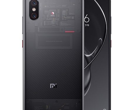 Xiaomi Mi 8 Explorer Edition with transparent back, In-Display FP scanner announced