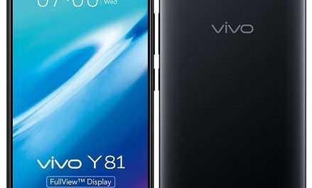 Vivo Y81 with 3GB RAM, Helio P22 SoC and 19:9 FullView Display announced