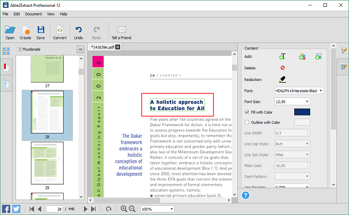 Able2Extract professional 12 Review: Create, Edit and Convert PDFs easily