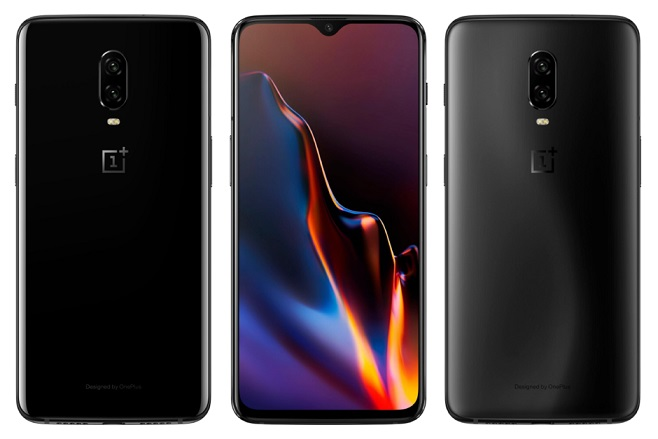 Image result for OnePlus 6T With In-Display Fingerprint Sensor, 3,700mAh Battery Launched