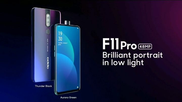 OPPO F11 Pro with 48MP rear camera launching in India soon