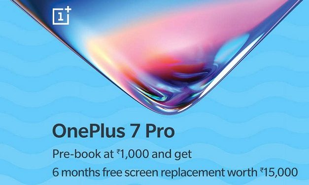OnePlus 7 Pro up for pre-order on Amazon, comes with one time screen replacement