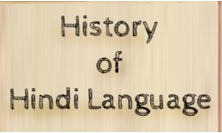 A Look at the History of Hindi language