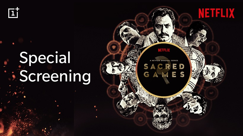 OnePlus to host special screening of Sacred Games 2 on 14 August for its users