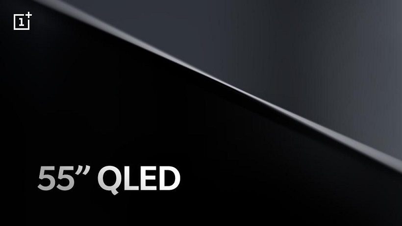 OnePlus TV launching first in India next month, will be 55 inch QLED TV