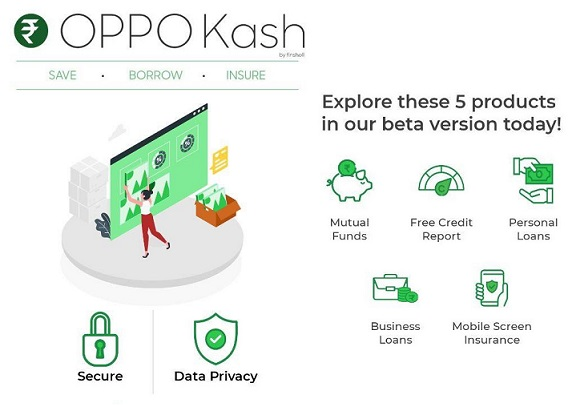 OPPO launches OPPO Kash which offers financial service, loans in India