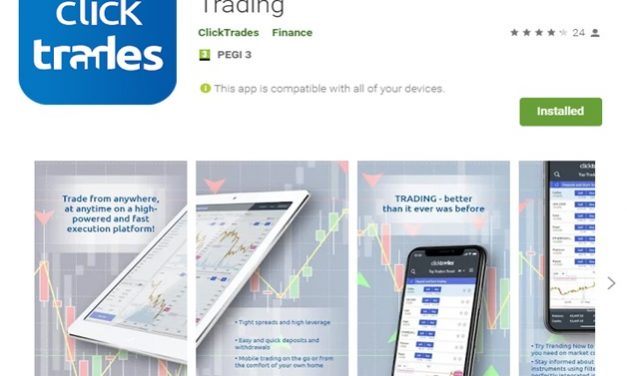 Clicktrades Android App Review