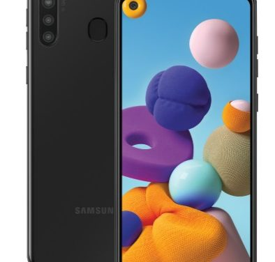 Samsung Galaxy A21 with 3GB RAM, Quad rear cameras announced