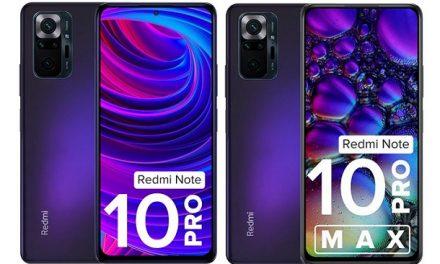 Xiaomi Redmi Note 10 Pro and Redmi Note 10 Pro Max launched in Dark Nebula colour in India
